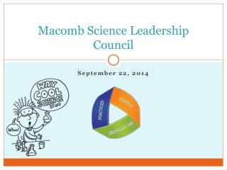 Macomb Science Leadership Council