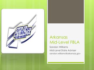 Arkansas  Mid-Level FBLA