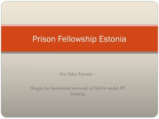 Prison Fellowship Estonia