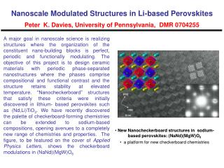 New Nanocheckerboard structures in  sodium-based perovskites: (NaNd)(MgW)O 6