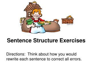 Sentence Structure Exercises