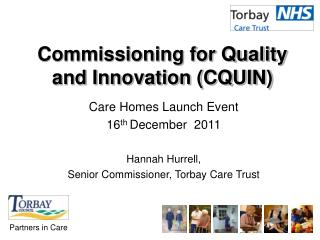 Commissioning for Quality and Innovation CQUIN
