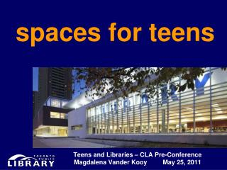 spaces for teens