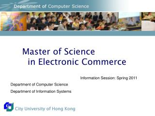 Master of Science    in Electronic Commerce