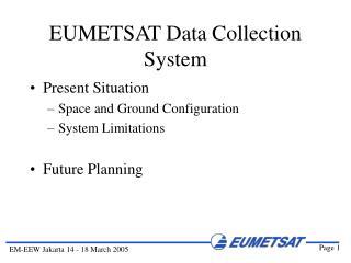 EUMETSAT Data Collection System