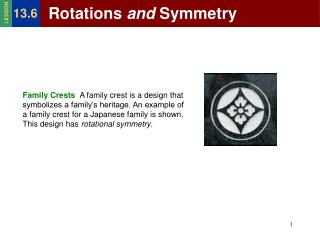 Rotations  and  Symmetry