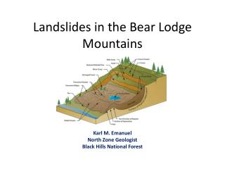 Landslides in the Bear Lodge Mountains