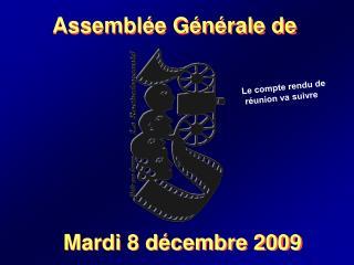 Assemblée Générale de
