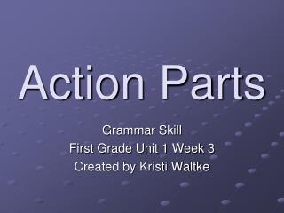Action Parts