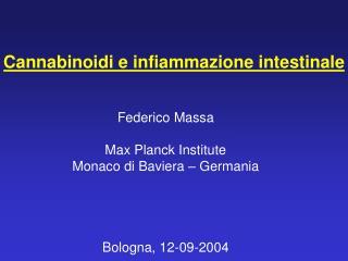 Cannabinoidi e infiammazione intestinale