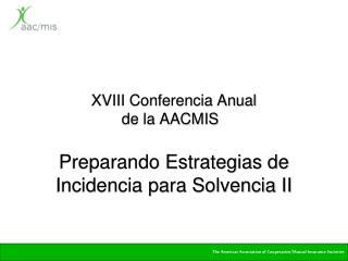XVIII Conferencia Anual  de la AACMIS