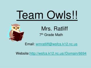 Mrs. Ratliff