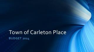Town of Carleton Place