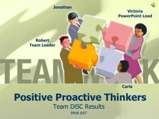 Positive Proactive Thinkers