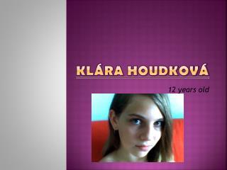 Klára Houdková