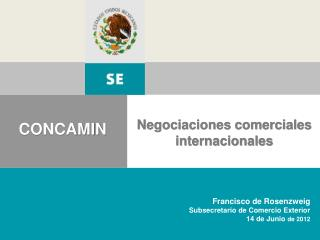 Negociaciones comerciales internacionales