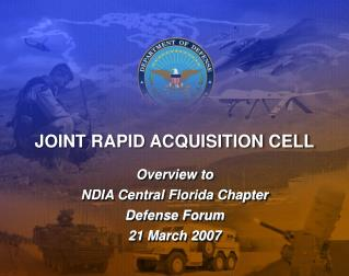JOINT RAPID ACQUISITION CELL