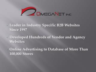Leader in Industry Specific B2B Websites Since 1997