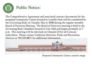 Public Notice :