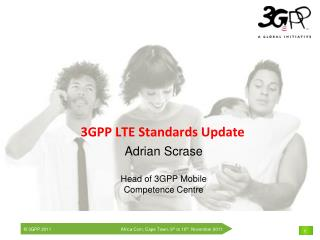 3GPP LTE Standards Update