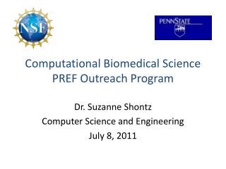 Computational Biomedical Science PREF Outreach Program