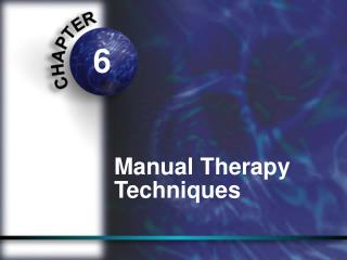 Manual Therapy Techniques