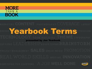 Yearbook Terms