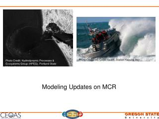 Modeling Updates on MCR