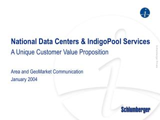 National Data Centers & IndigoPool Services