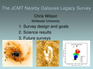 The JCMT Nearby Galaxies Legacy Survey