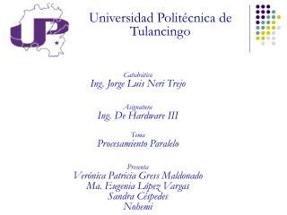 Universidad Politécnica de Tulancingo