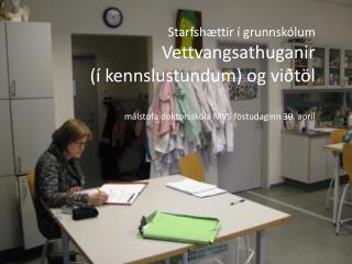Tengsl við stoðir