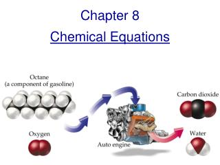 Chapter 8 Chemical Equations