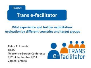 Trans  e-facilitator