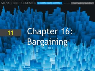 Chapter 16: Bargaining