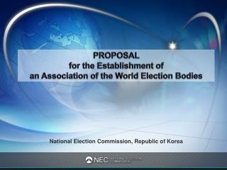 National Election Commission, Republic of Korea