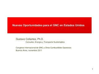 Nuevas Oportunidades para el GNC en Estados Unidos
