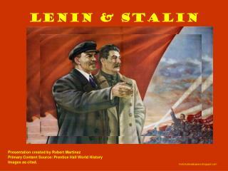Lenin & Stalin