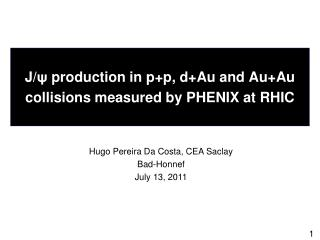 J/ ψ  production in  p+p ,  d+Au  and  Au+Au  collisions measured by PHENIX at RHIC