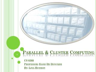 Parallel & Cluster Computing