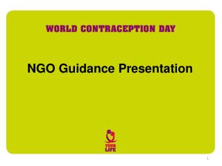 NGO Guidance Presentation