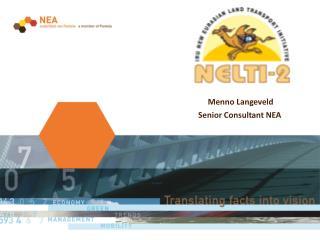 Menno Langeveld         Senior Consultant NEA