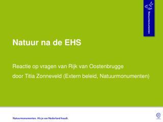 Natuur na de EHS