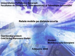 Universitatea Politehnica Bucure şti