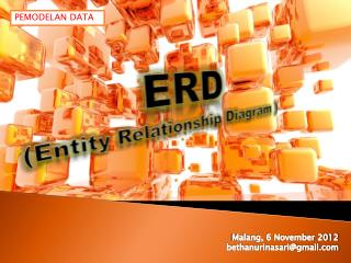 ERD  (Entity Relationship Diagram )
