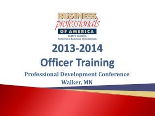 2013-2014 Officer Training