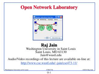 Open Network Laboratory