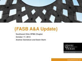 {FASB A&A  Update}