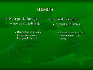 Neorganska hemija neorganska jedinjenja