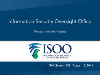 SAA Session 608:  August 16, 2014